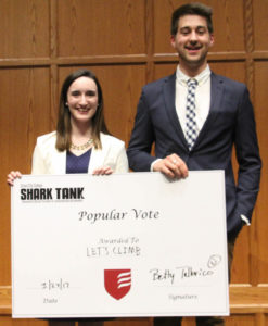 Grove City College Center for Entrepreneurship and Innovation Shark Tank 2017-Popular Vote